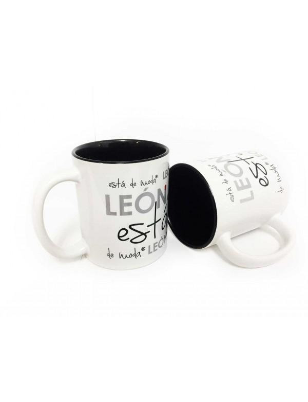 Taza Ceramica LEÓN